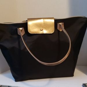 Bath and Body Works large black tote